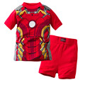 2T~7T High Quality Cotton Baby Boy Kids Toddler Children Suits Clothing Clothes Set  2pcs Baby Boys Clothing Sets Summer x22