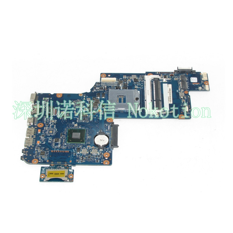 NOKOTION H000041590 Laptop motherboard for toshiba satellite C870 L870 SLJ8E HM76 DDR3 Mainboard Works nokotion v000225000 motherboard for toshiba satellite c655 laptop mainboard 6050a2355202 hm55 pga989 ddr3 fully tested
