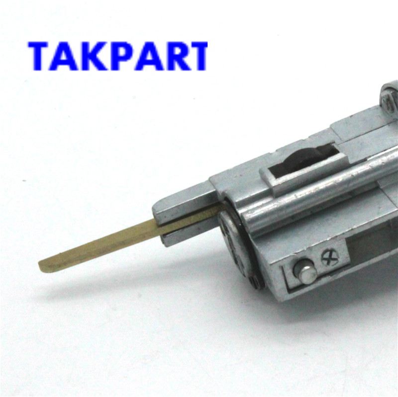 Ignition Lock Cylinder Tumbler with Key for Toyota//Corolla//Geo//Prizm 1998-2002 69057-12340//US-251L Metal