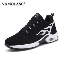 VAMOLASC New Men's Sport Running Shoes Comfortable Breathable Lightweight Outdoor Sneakers