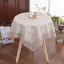 Кружевная скатерть ткань для европейского стола пылезащитный
