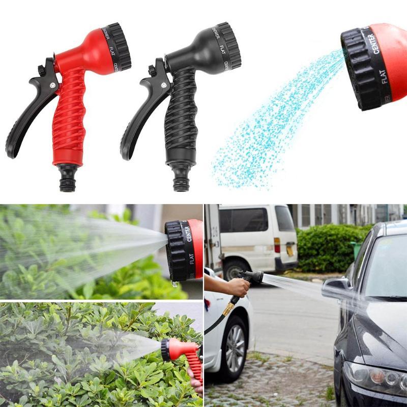 Sprinkler-Nozzle Watering Garden-Hose Cleaning-Tool Plastic High-Pressure Adjustable