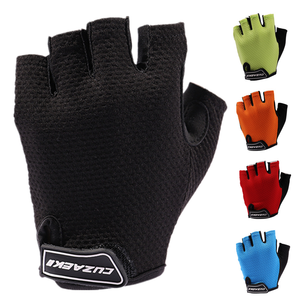 Honey Cuzaekii Men Women Summer Cycling Half Finger Gloves Road Bike Mtb Bicycle Shockproof Gloves Outdoor Sportswear Clothing Selling Well All Over The World