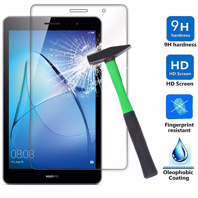 """Genuine HD 9H Tempered Glass Screen Protector For Huawei MediaPad T3 10 9.6/"""" TAB"""