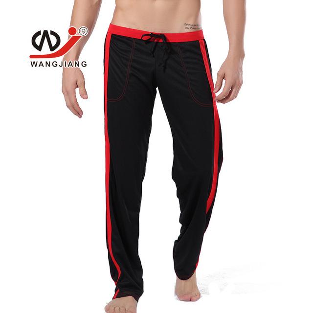 Homens Da Moda Calças Soltas Corredores Treino Casuais Longo Calças 5 Cores Calça Casual Respirável Sleepwear Calças de Treino