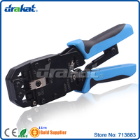 Ratchet RJ50 RJ45 RJ11 RJ12 RJ9 RJ10 RJ22 Multifunctional Network Tool