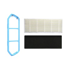 Primary Filter Mesh Sponge Accessory Kit For Ilife A4 A4S Robot Vacuum Cleaner Part 10 hepa filter 10 sponge filters for chuwi ilife a4 robot vacuum cleaner ilife a4s a6 a4 a40 cleaning robot vacuum cleaner parts