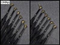 High-End настройки подарок зонтик Китайский 12 знак ручку зонтика животного Аватар деловые мужчины зонтик Бесплатная доставка