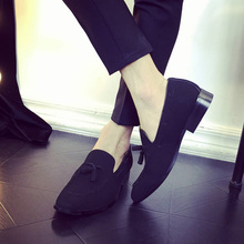 2016 New Arrival Casual Mens Shoes Suede Leather Men Loafers Moccasins Fashion Low Slip On Men Flats Shoes oxfords Shoes EPP126