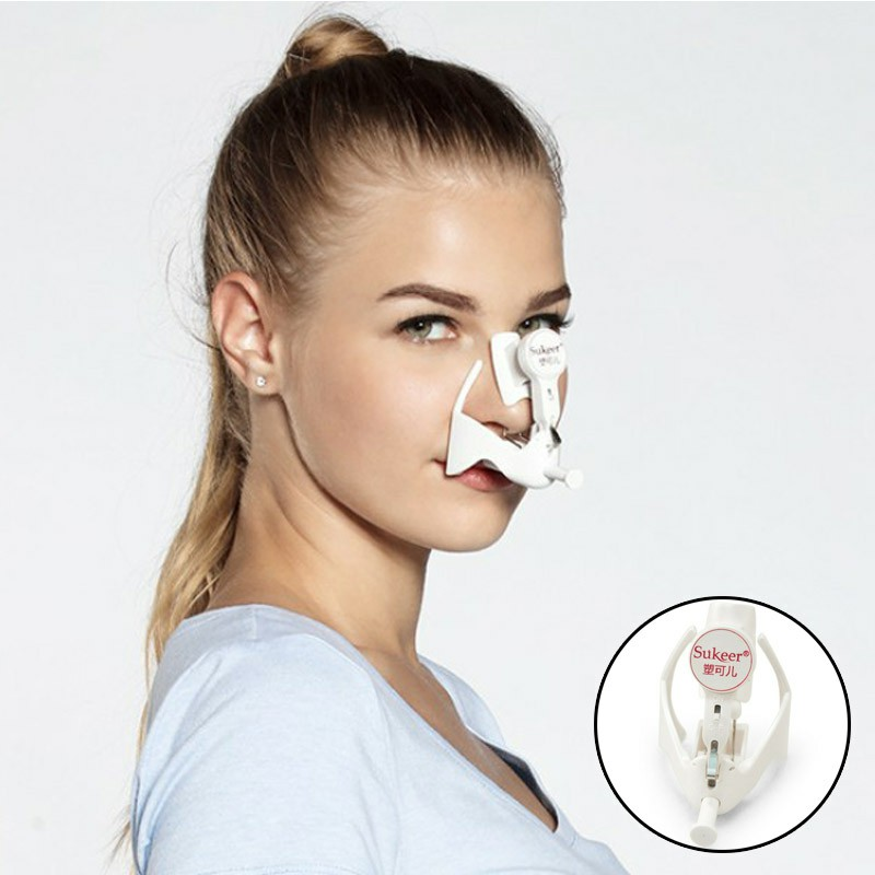 2018 NEW Nose Nose Bridge Heighten Reduction Of Nasal Wing Massager Mei Ting Nose Artifact Cosmetic Instrument