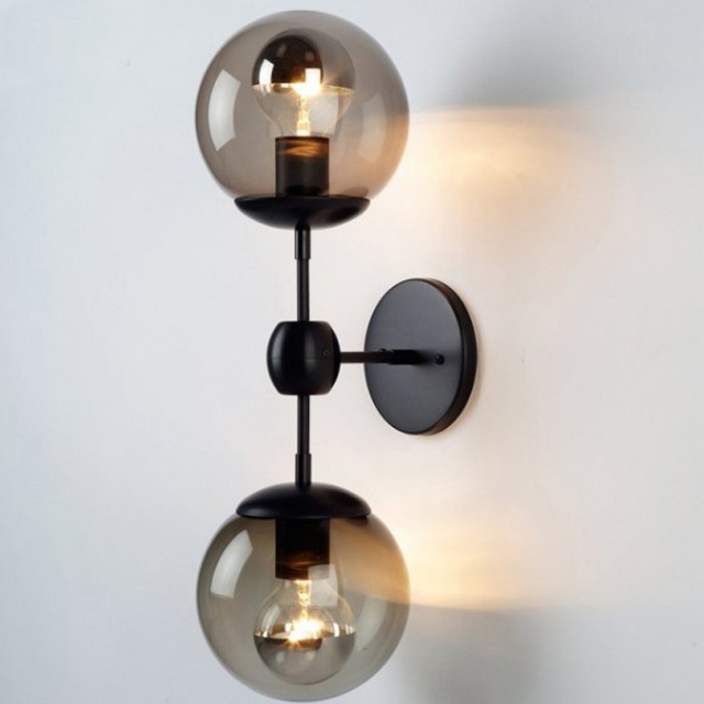 loft vintage industrial lustre clear glass magic ball edison wall sconce lamp bathroom beside bedroom home aliexpresscom buy vintage industrial lighting modern