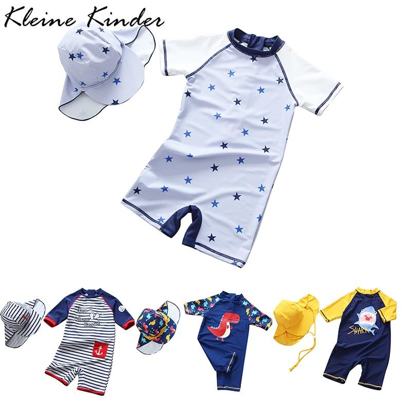 Children's Swimsuit Boys 2019 Dinosaur UV Baby Bathing Suit Boy Kids One Piece Swimming Suit Toddler Boy Swimsuits Bath Clothes