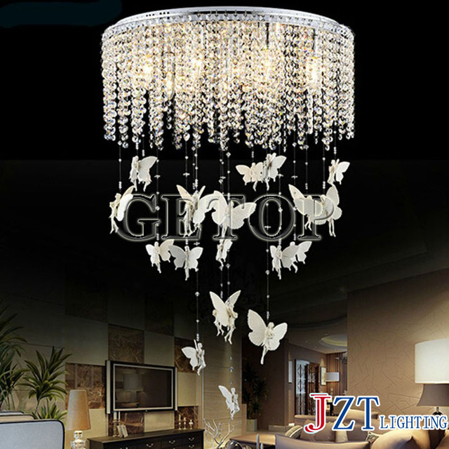 J Best Price New Fashion K9 Crystal Lamp Led Droplight Sitting Room Dining