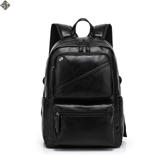8ffa1dd6d1 Fashion Brand leather men backpack new high quality man s backpack large  capacity men travel bag duffel bag laptop backpack