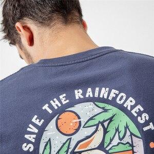 Image 5 - SIMWOOD 2020 חולצות גברים אופנה מותג Streetwear מקרית Slim הדפסת קריקטורה חולצות זכר כותנה קיץ Tees camiseta homme 190112