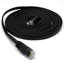 Câble HDMI HDMI 5 m RJ45 Ethernet réseau LAN câble plat UTP Patch routeur intéressant Lot top qualité 0508