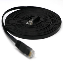 HDMI כבל HDMI 5 m RJ45 Ethernet רשת LAN כבל שטוח UTP תיקון נתב מעניין הרבה למעלה איכות 0508