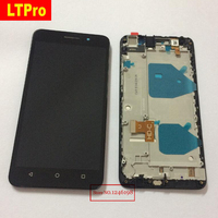 Best Working LCD Display Touch Screen Digitizer Assembly with Frame For Huawei Honor 4X Phone Panel Sensor Replacement