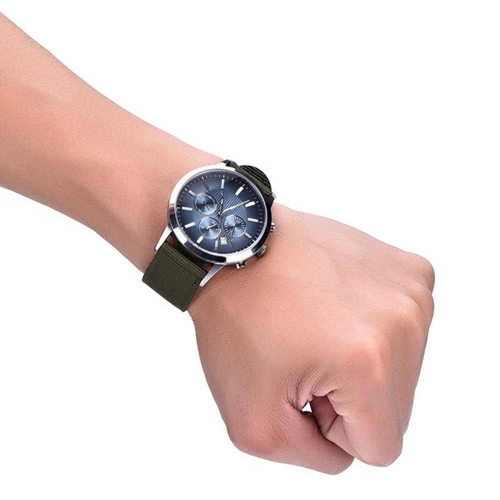 22 20 18 24mm ספורט ארוג ניילון שעון להקת לסמסונג גלקסי רך רצועת עבור ציוד S3 S2 קלאסי אוניברסלי להקת עם מתכת