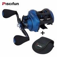 Piscifun Perseus Dual Brake System Baitcasting Reel 8 4KG Drag Saltwater Freshwater Baitcasting Fishing Reel Pesca