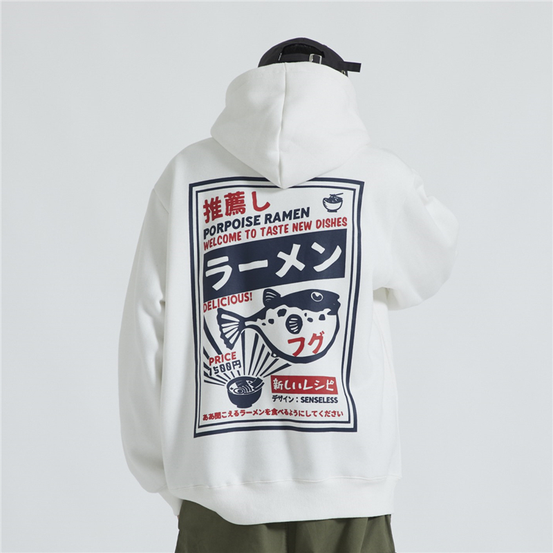 Bebovizi Streetwear Japan Style Oversized Sweatshirts Casual Print Hoodies Japanese Tops Men Hip Hop Pullover Hooded 2019 in Hoodies amp Sweatshirts from Men 39 s Clothing