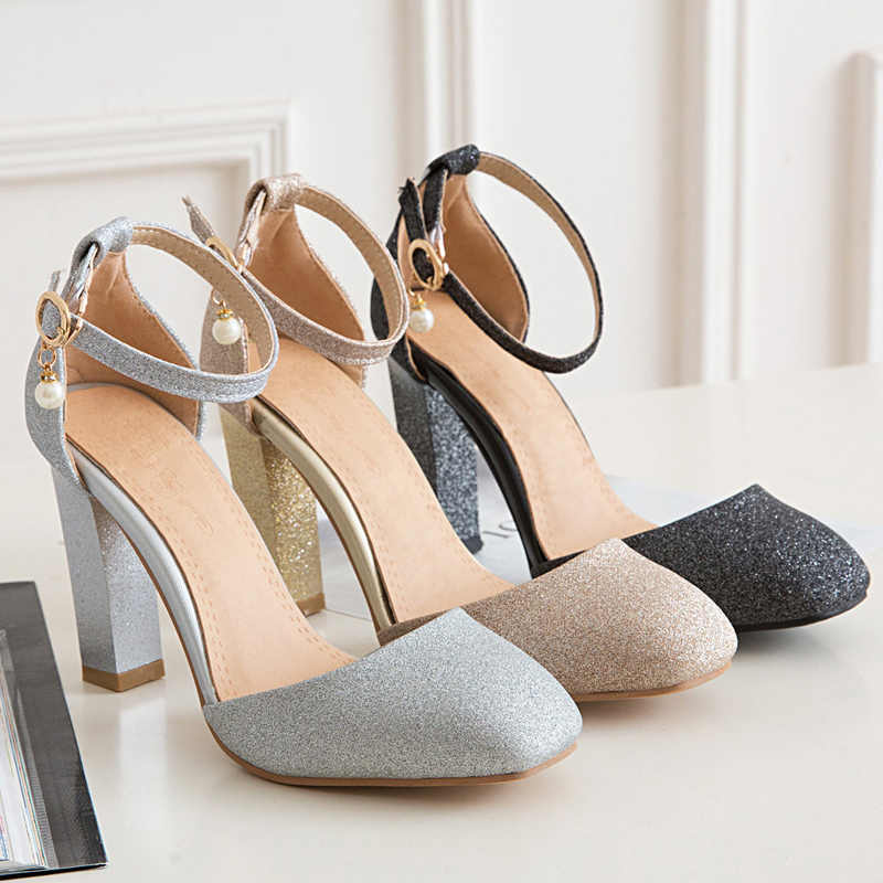 2017hot Новый Летние стильные босоножки Для женщин сладкие Мода Большой размер 31–45 леди Обувь женские туфли-лодочки на высоком каблуке для свадебной вечеринки Обувь T710