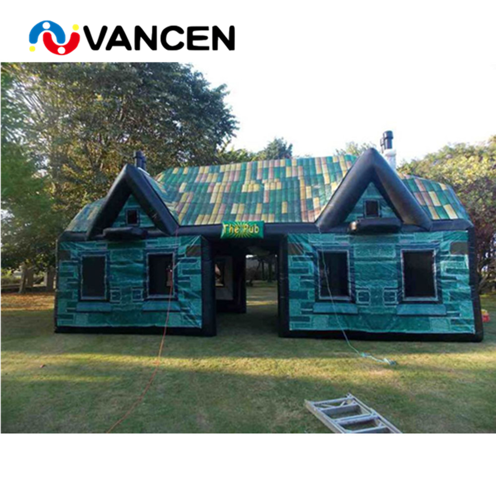High Quality Commercial Inflatable Pub Tent Customized Outdoor Party Event Inflatable Bar Tent For Rental