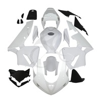 ABS White Injection Fairing Kit Unpaint For Honda CBR600RR CBR 600 RR F5 03 04