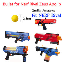 100pcs Ball Bullets for Nerf Nerf Rival Toy Gun High Quality Mixed Colors Darts for Nerf Rival Zeus Apollo Nerf Toy Gun