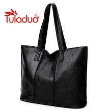 Tuladuo Handtasche 2017 Neue Mode Frauen Tasche Marke Frauen Handtaschen Aus Leder Frau Große Schultertasche Lässig-einkaufstasche