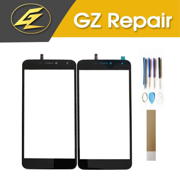 For BQ Mobile BQ-5520 BQ5520 BQ 5520 Mercury BQS 5520 BQS5520 Touch Screen Sensor Glass Digitizer With Tools Tape