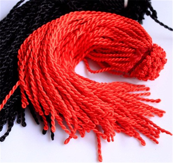 1 2.5mm 50CM Rope DIY Red Black Rope Twist Hand Woven Necklace Bracelet Jewelry Accessories Rough Hand Rope