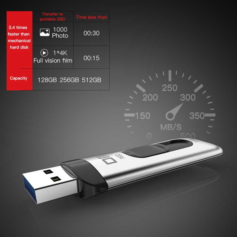 Портативный SSD-накопитель DM FS200 64/128/256 Гб