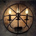 Loft Style Iron Candle Wall Lamp Cafe Shop Decoraction Light Bar Light Free Shipping
