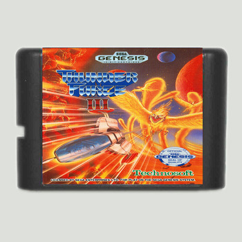 Thunder Force III For Sega Genesis