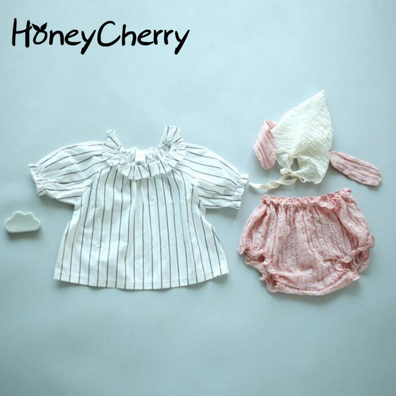 Summer New Girls set Sell Cute Puppy Adorable Hat Shorts 3 Piece Baby Suit Jacket Baby Boy Clothes Girls Clothing SetsSummer New Girls set Sell Cute Puppy Adorable Hat Shorts 3 Piece Baby Suit Jacket Baby Boy Clothes Girls Clothing Sets