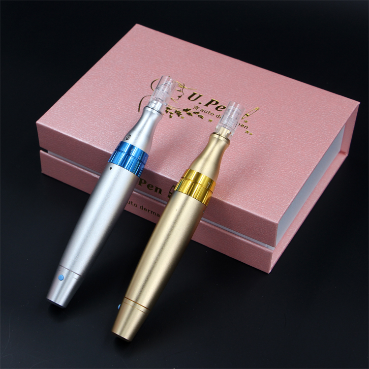 Microneedles Electric Eyebrow Tattoo MTS Equipment Derma Pen Permanent Makeup Pen NANO wrinkle acne removal