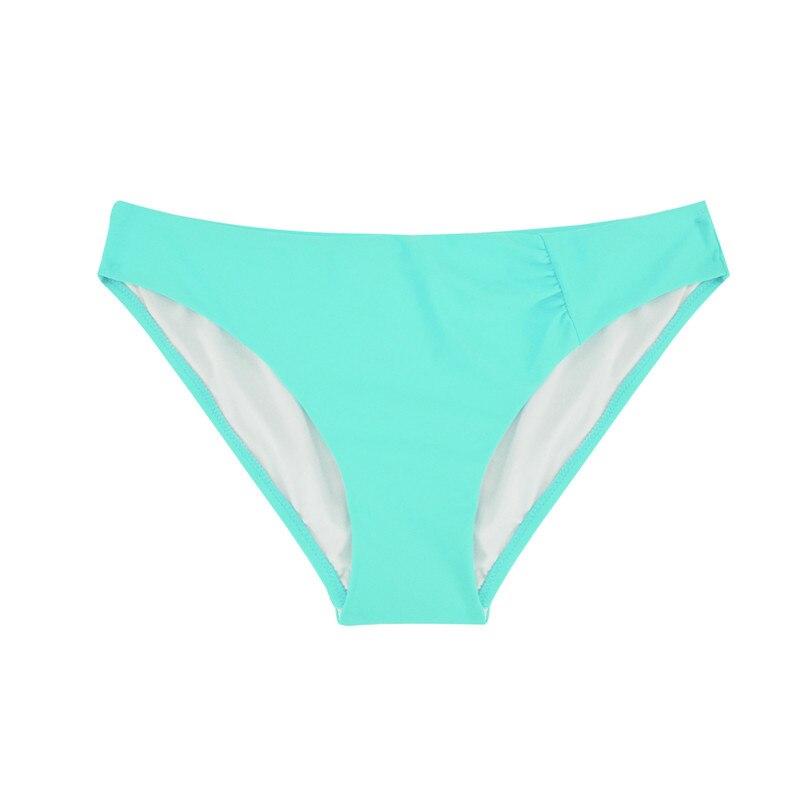 Шорты для плавания с низкой талией, плавки, одежда для плавания, сексуальный женский купальник, Бразильское бикини, два предмета, Раздельный купальник, B601 - Цвет: B601E