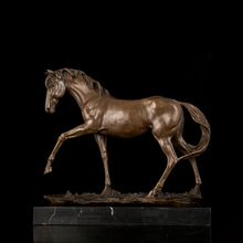 Classical Styles Best Selling High Quality Bronze sculptures Hurtling Horse Statue CZW-034