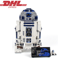 2127Pcs Lepin Star Wars Figures Series The R2 D2 Robot Model Building Kits Blocks Bricks Toys