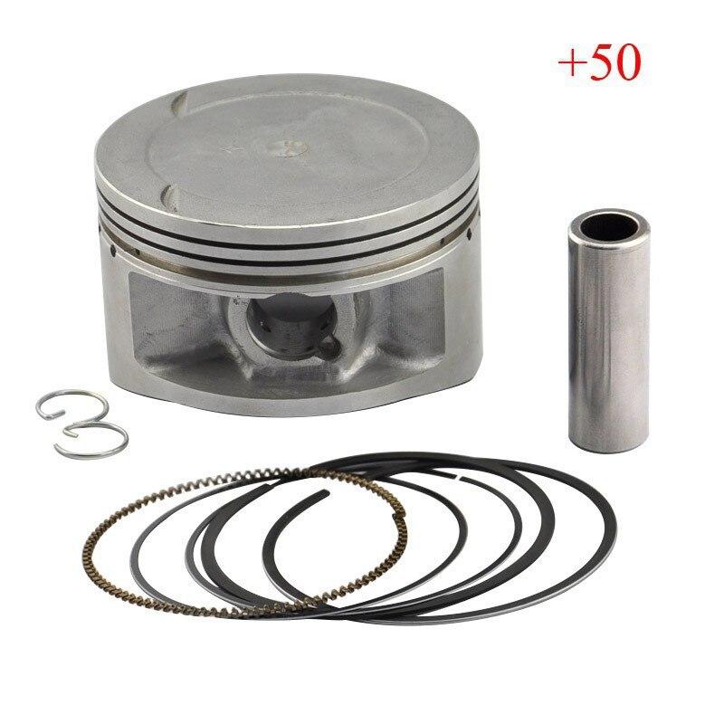 LOPOR XT600 Piston Piston Rings Kit Motorcycle Engine Parts Piston Set For Yamaha XT 600 50