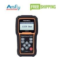 FOXWELL CRD700 Стиль Автомобиля Диагностический Scan Инструменты Цифровой Давления Common Rail Тестер Сканер Беспроводной Передачи Данных Передатчик для Автомобилей