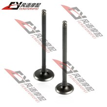 Free Shipping for Honda VFR400 nc30 New intake valves and exhaust valves Motorcycle parts