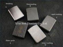 Titanium TC4 Боевые Доспехи Масло Легче Оболочки/Твердые 1.7 мм Толщиной Материал Stronge Петли Водонепроницаемый Близко Шарнир Экономии Топлива 57 г