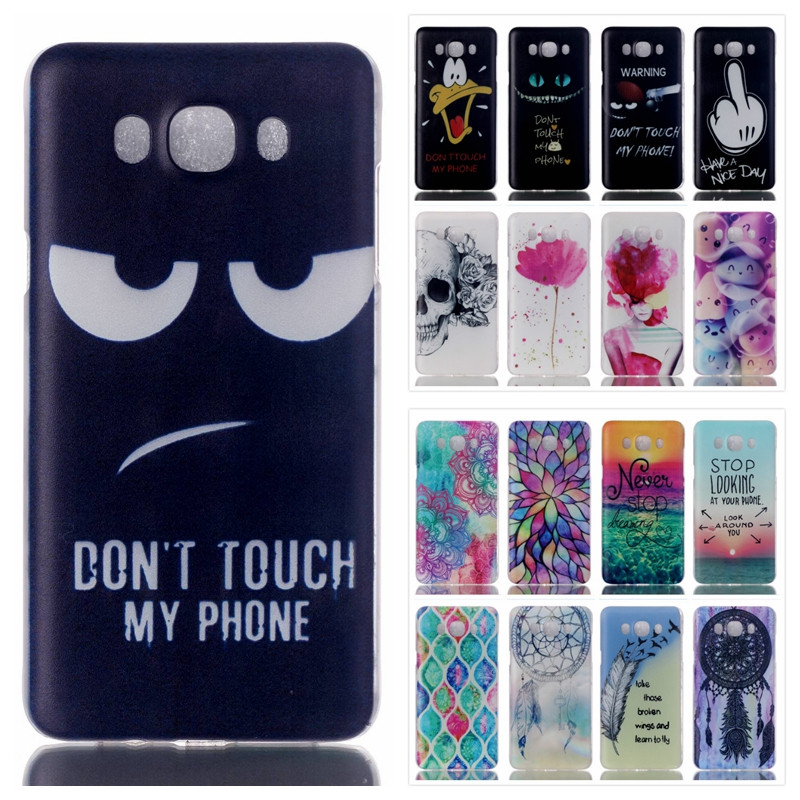 3D Printed Case Samsung Galaxy J7 2016 J710 J710H Colorful Plastic Hard Back Cover J710F Slim Clear Phone Cases  -  SJ Technology Co., Ltd. store