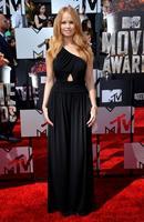 Debby Ryan Mtv Movie Awards Black One Shoulder Chiffon Evening Dress Celebrity Vestido De Festa Longo