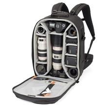 حقيبة ظهر Lowepro Pro run450 AW حقيبة كاميرا تصوير مستوحاة من المناطق الحضرية حقيبة ظهر رقمية للحاسوب المحمول SLR 17 بوصة مزودة بغطاء مطر