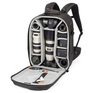 Image 1 - حقيبة ظهر Lowepro Pro run450 AW حقيبة كاميرا تصوير مستوحاة من المناطق الحضرية حقيبة ظهر رقمية للحاسوب المحمول SLR 17 بوصة مزودة بغطاء مطر