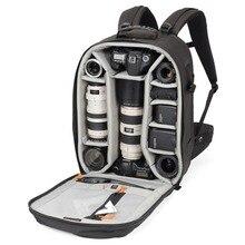 """Oryginalna torba na aparat fotograficzny Lowepro Pro Runner 450 AW inspirowana miastem lustrzanka cyfrowa torba na laptopa 17 """"z osłoną przeciwdeszczową"""