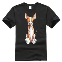 Little Podenco Dog Cartoon Stylisches T-Shirt Harajuku Tops